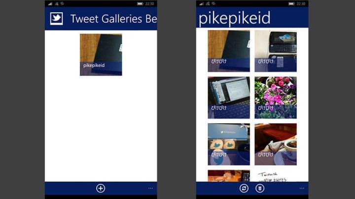 Tweet-Galleries